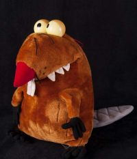 Angry Beavers DAGGETT Daggie Dag Plush Stuffed Animals